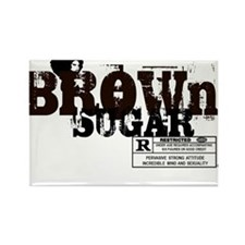 Brown Sugar T-shirt Rectangle Magnet