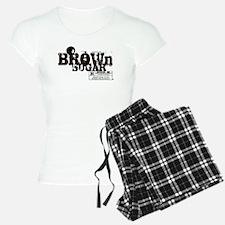 Brown Sugar T-shirt Pajamas