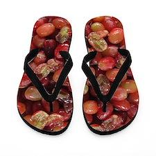 Grape Stomper's Flip Flops