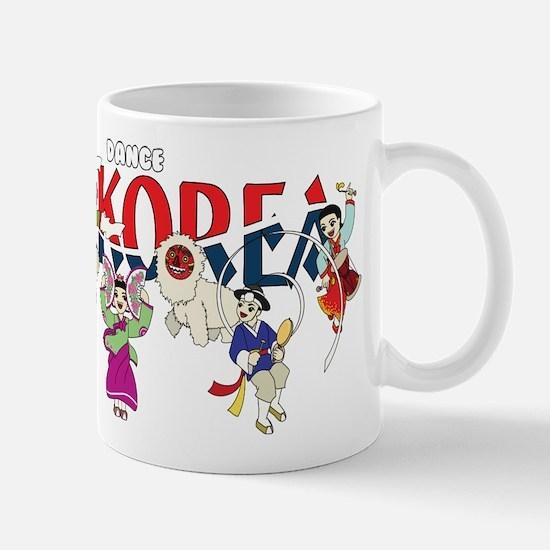 Dance Korea Mug