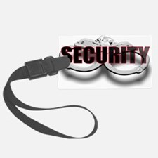 SECURITY. FRONT/BACK Luggage Tag