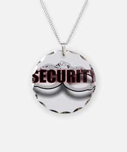 SECURITY. FRONT/BACK Necklace