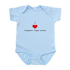 I Heart Miles Infant Creeper