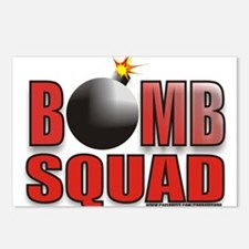 BOMBSQUADREDBOMB.jpg Postcards (Package of 8)