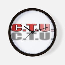 CTU2.jpg Wall Clock