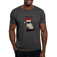 Siamese Santa Claws T-Shirt