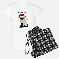 Siamese Santa Claws Pajamas