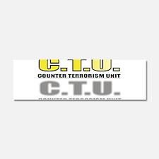 CTU Car Magnet 10 x 3