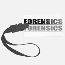 FORENSICS.jpg Luggage Tag