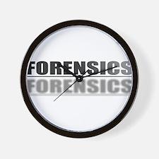 FORENSICS.jpg Wall Clock
