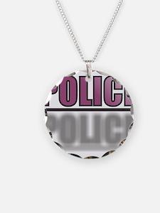 POLICEPURPLE1.jpg Necklace