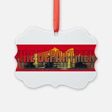 Unique Firefighter christmas Ornament