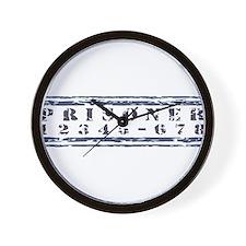 prison2.jpg Wall Clock