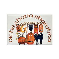 Symbols of Halloween (Gaelic) Magnets (10 Pack)