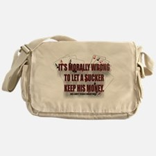 SUCKER Messenger Bag