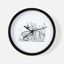 K9 Wall Clock