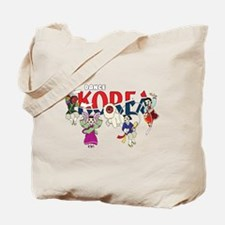 Dance Korea Tote Bag