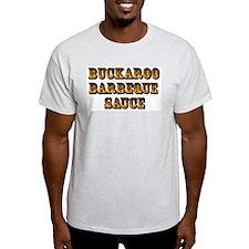 Buckaroo BBQ Sauce - Ash Grey T-Shirt