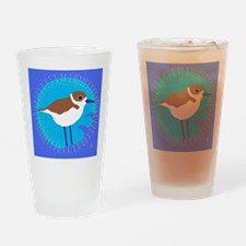 snowy plover.png Drinking Glass