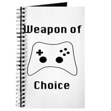 Weapon of Choice Game Controller Tee Journal