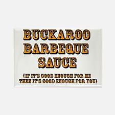 Buckaroo BBQ Sauce - Rectangle Magnet (10 pack)