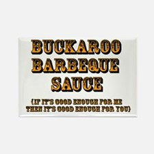 Buckaroo BBQ Sauce - Rectangle Magnet