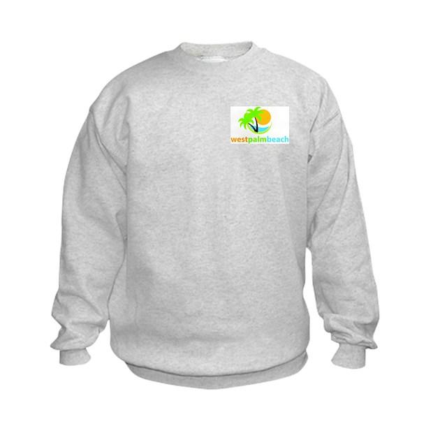 West Palm Beach Sweatshirt By Westpalmbeach