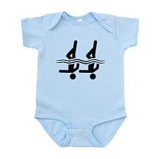 Synchronized Swimming Infant Bodysuit