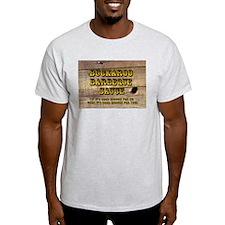 Buckaroo on Wood - Ash Grey T-Shirt