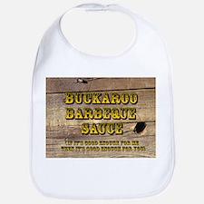 Buckaroo on Wood - Bib