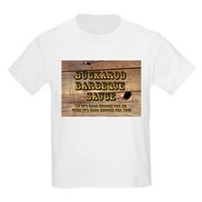 Buckaroo on Wood - Kids T-Shirt