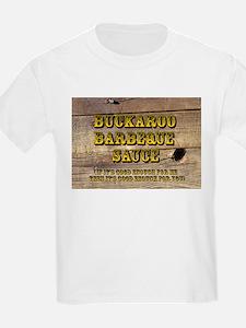 Buckaroo on Wood - Kids T-Shirt