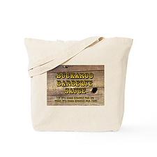 Buckaroo on Wood - Tote Bag