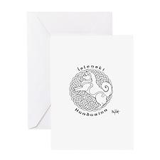 Icelandic Sheepdog Greeting Cards
