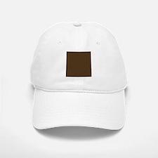 Brown Polka Dot Print Baseball Baseball Cap