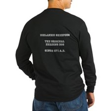 ISD Herding Shirt Men's 2 Colors, Front and Back