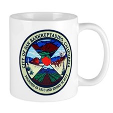 San Bankruptadno, California Mug
