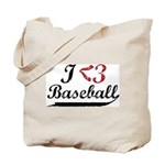 Geeky Baseball Fan Tote Bag