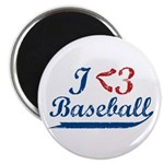 "Geeky Baseball Fan 2.25"" Magnet (10 pack)"