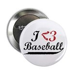 "Geeky Baseball Fan 2.25"" Button (100 pack)"