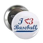 "Geeky Baseball Fan 2.25"" Button (10 pack)"