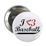 Geeky Baseball Fan Button