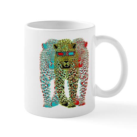 Leopards 3D Mug