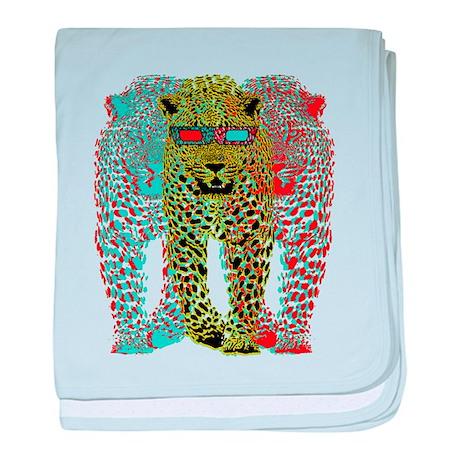 Leopards 3D baby blanket