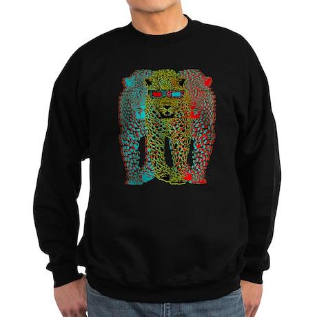 Leopards 3D Sweatshirt (dark)
