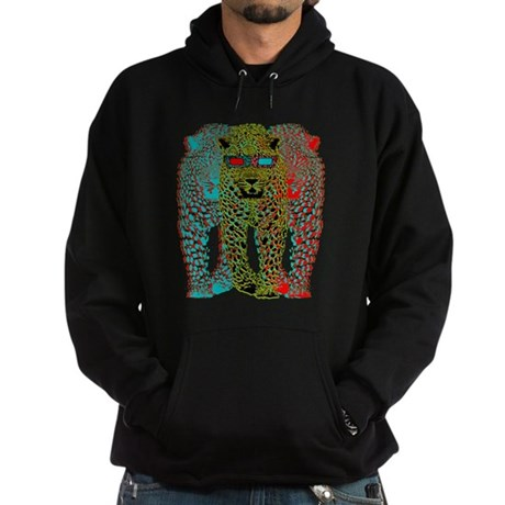 Leopards 3D Hoodie (dark)