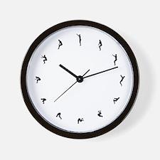 Flip Around Wall Clock