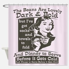 coffee-mom-darks.png Shower Curtain