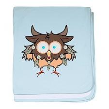 Bird is for BOOM baby blanket