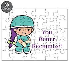You Better Rectumize Puzzle